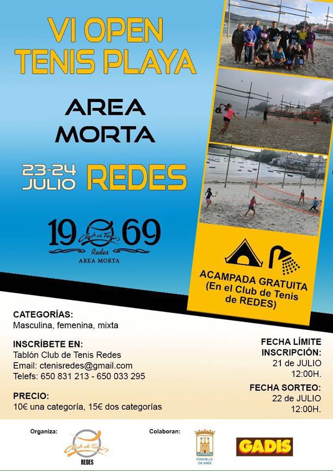 IV OPEN TENIS PLAYA - AREA MORTA
